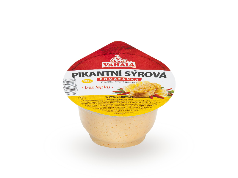 Spicy cheese spread 125 g