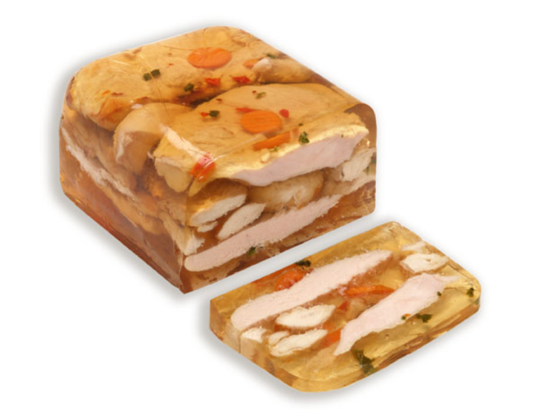 Jellied chicken breast